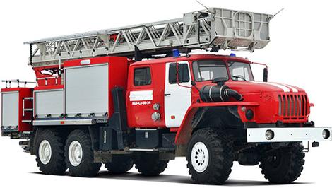 Виды пожарных автомобилей