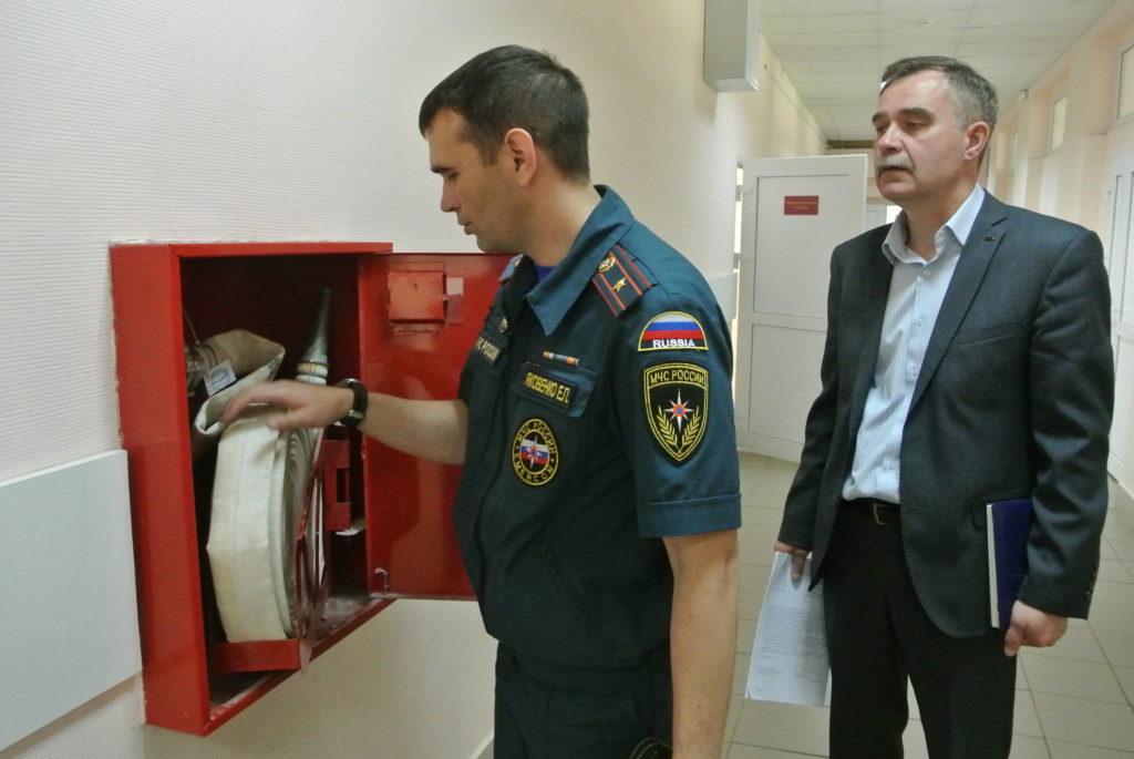 Плановая и внеплановая проверка пожарной инспекцией