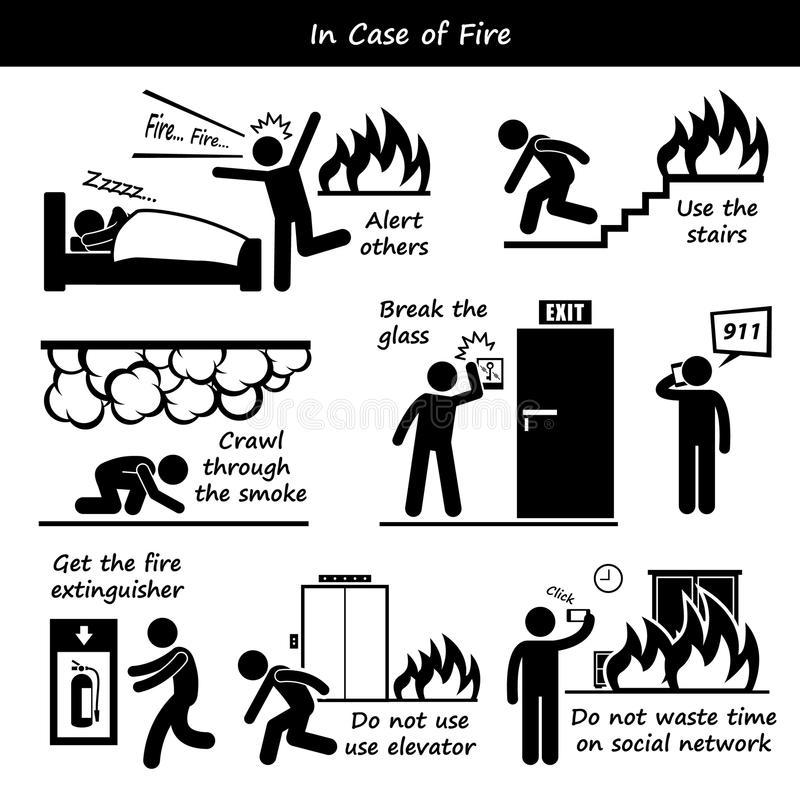 Инструкция о действиях персонала по эвакуации людей при пожаре