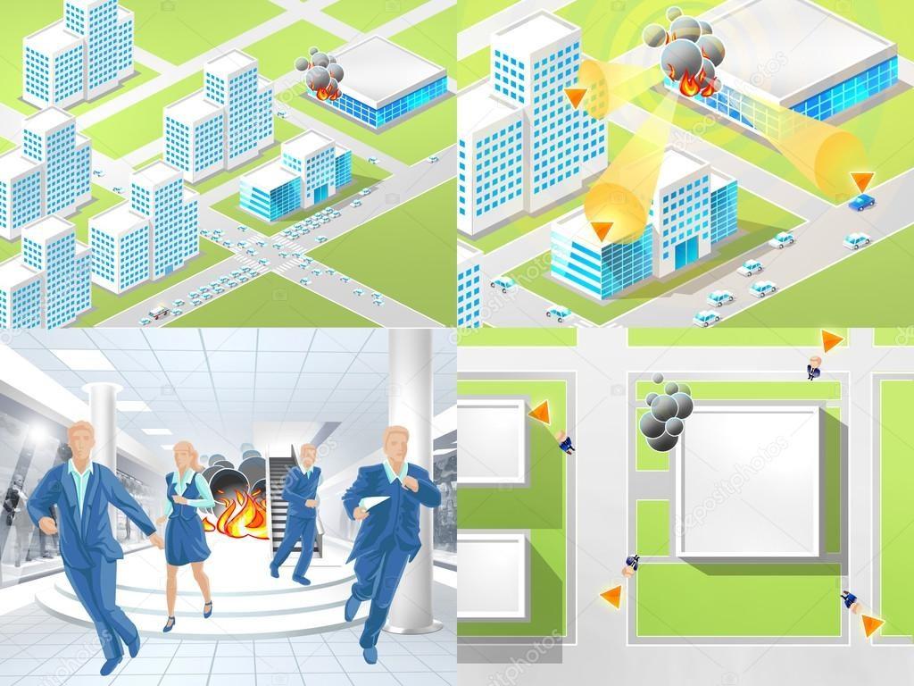 Порядок действий при эвакуации при пожаре