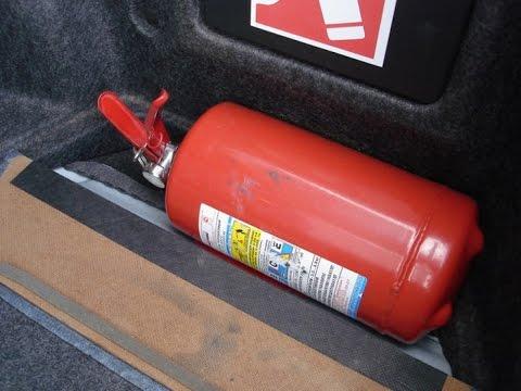 Требования к огнетушителю при техосмотре