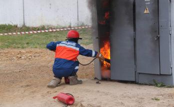 Тушение электрического оборудования