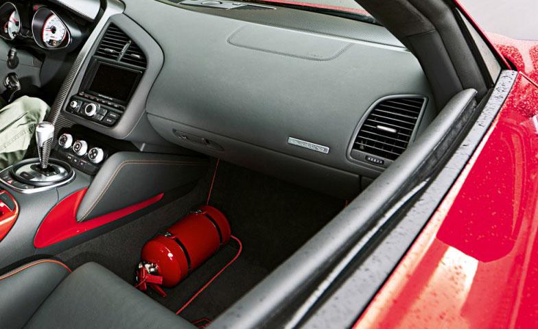 Где должен храниться огнетушитель автомобильный