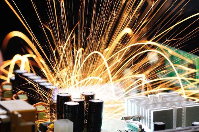 Причины возгорания на производствах