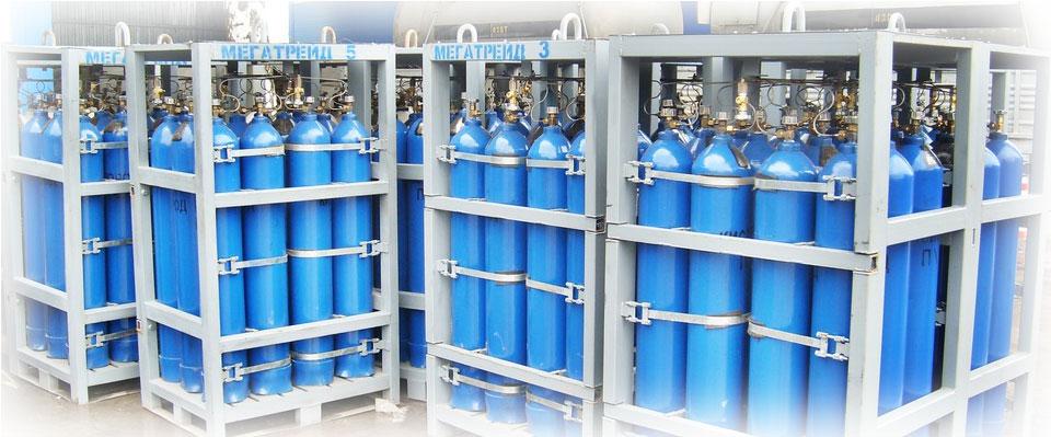 Правильное хранение кислородных баллонов