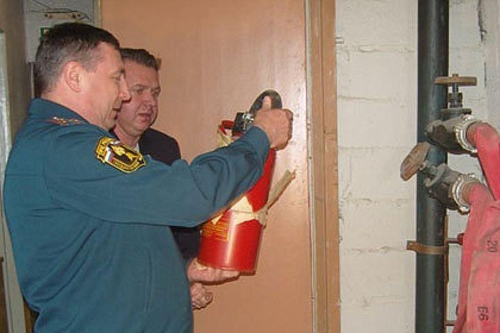 Проверки обеспечения пожарной безопасности