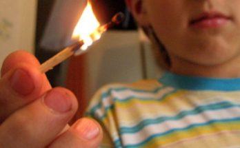 Действия при пожаре для детей