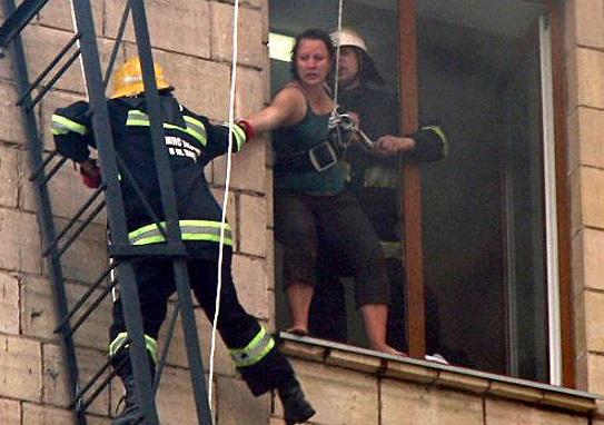 Эвакуация при пожаре