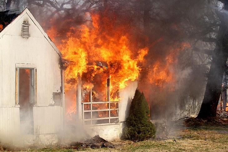 Классификация зданий по опасности возгорания