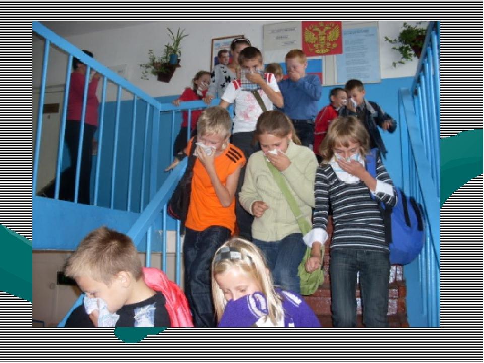 Правила эвакуации в школе