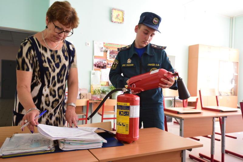 Проверка пожарной безопасности на предприятии