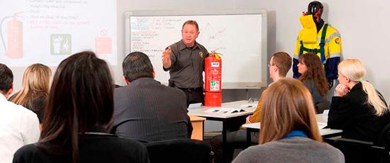 Обучение пожарно-техническому минимуму в учреждении
