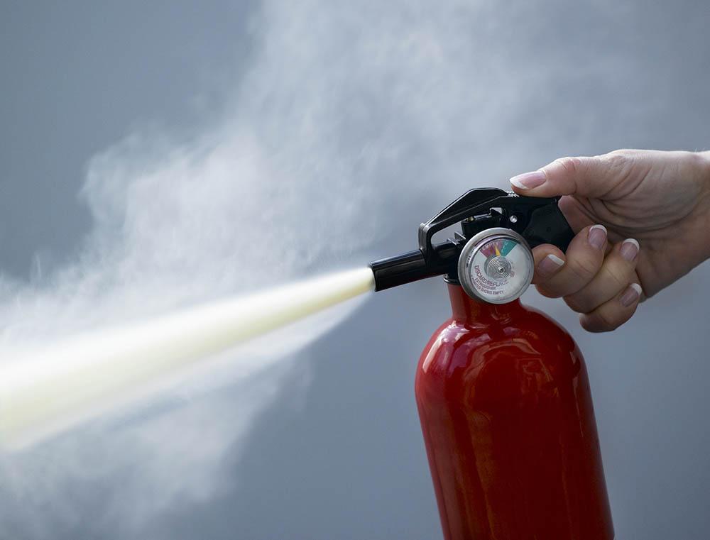 Воздушно-пенный огнетушитель