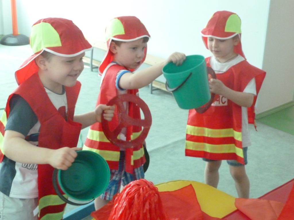 Занятия с детьми по пожарной безопасности