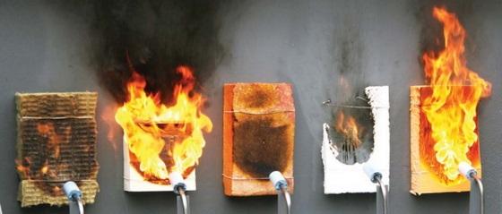 Противопожарные свойства материалов