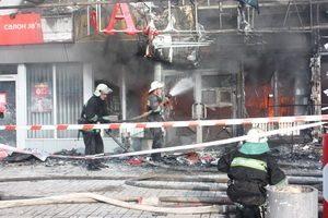 РТП организовал ограждение территории, чтобы посторонние лица не могли проникнуть на место возгорания