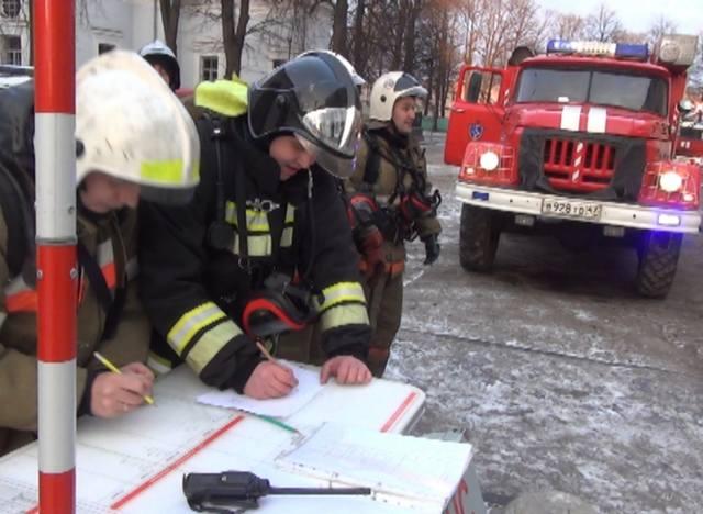 РТП составляет план действий, и отдаёт указания спасателям