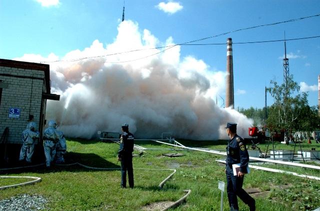 Воздействие на пожар диоксидом углерода