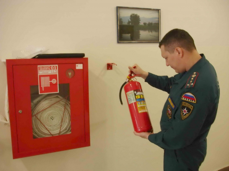 Противопожарная система должна проходить регулярные проверки