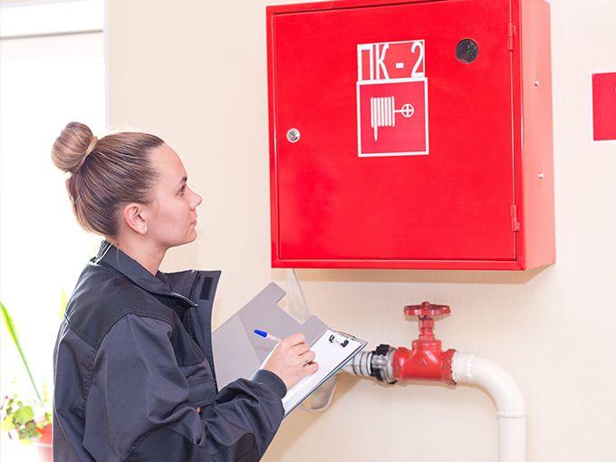 Проверка технического состояния средств пожаротушения
