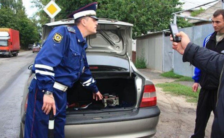 Досмотр авто и штраф за отсутствие огнетушителя