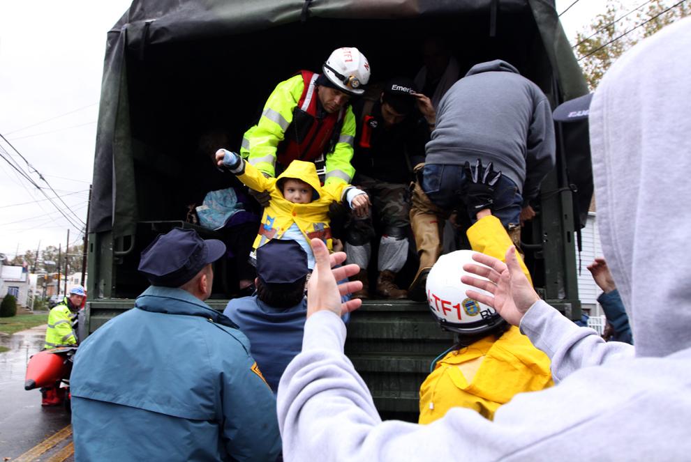 Правильная эвакуация людей