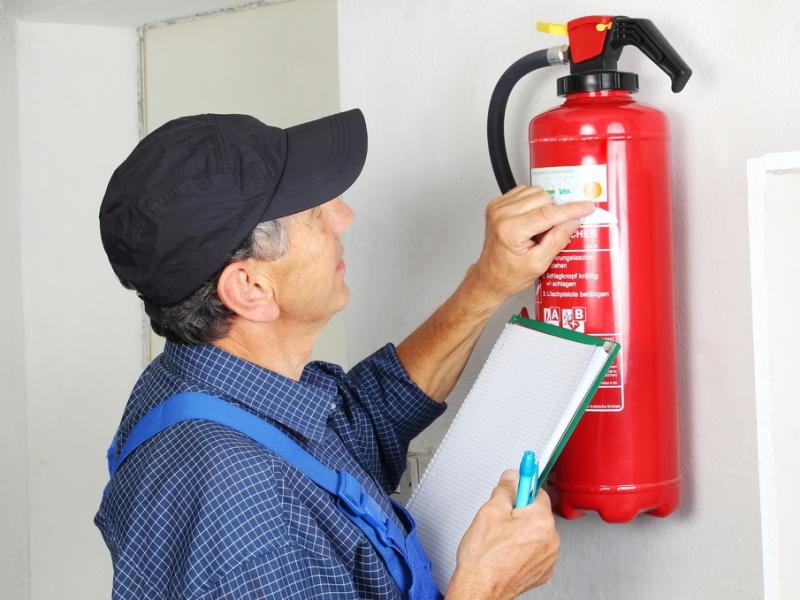 Содержание средств пожаротушения в технически исправном состоянии