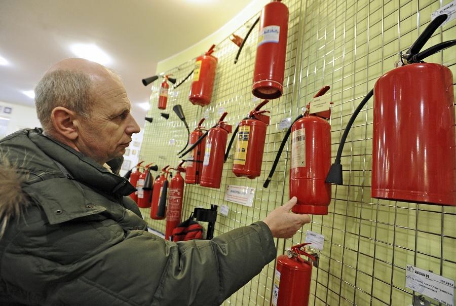 Купите огнетушитель заранее