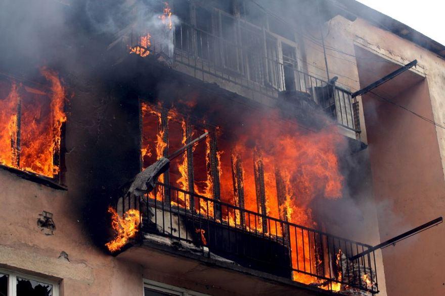 Пожар в квартире обложка