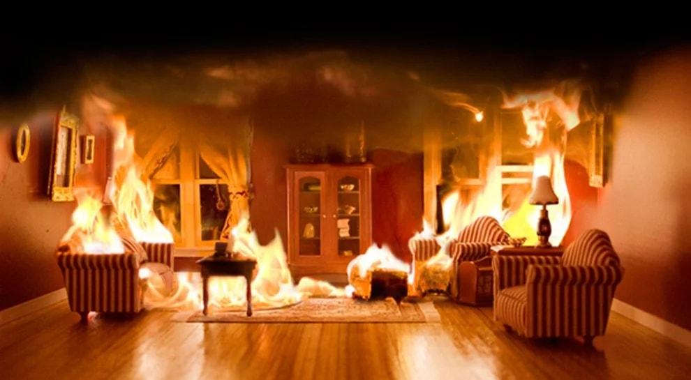 Пожарная опасность материалов