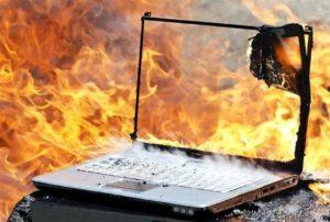 Возгорание офисной техники она из причин пожаров в офисах