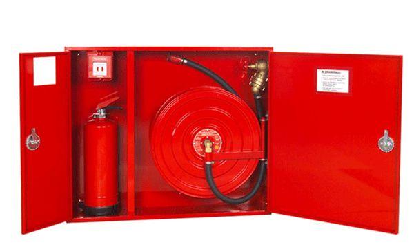 Первичные средства пожаротушения для ТРЦ