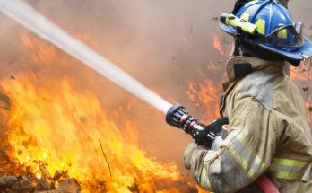 Огонь и нарастание температуры