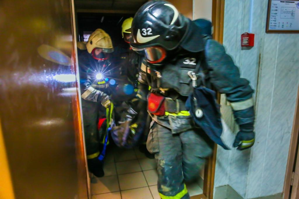 Огнеборцы-спасатели