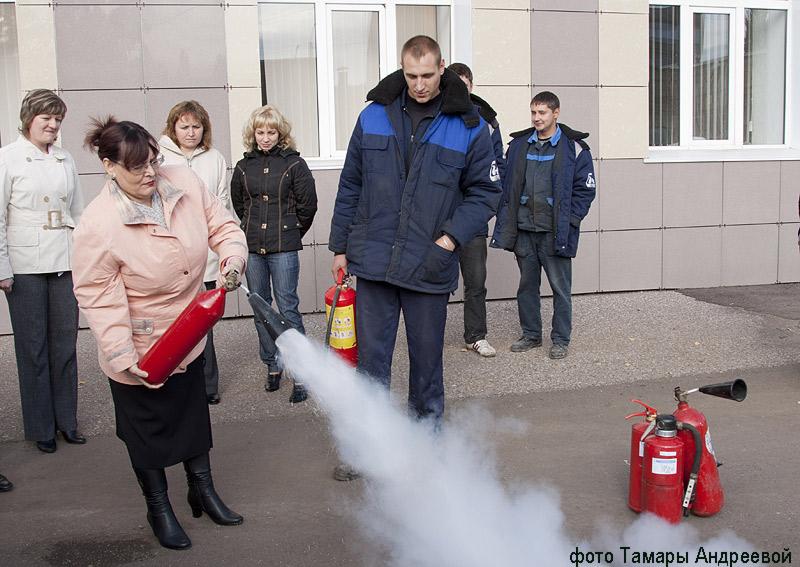 Учения пожаробезопасности