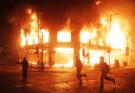 Температура при пожаре в здании