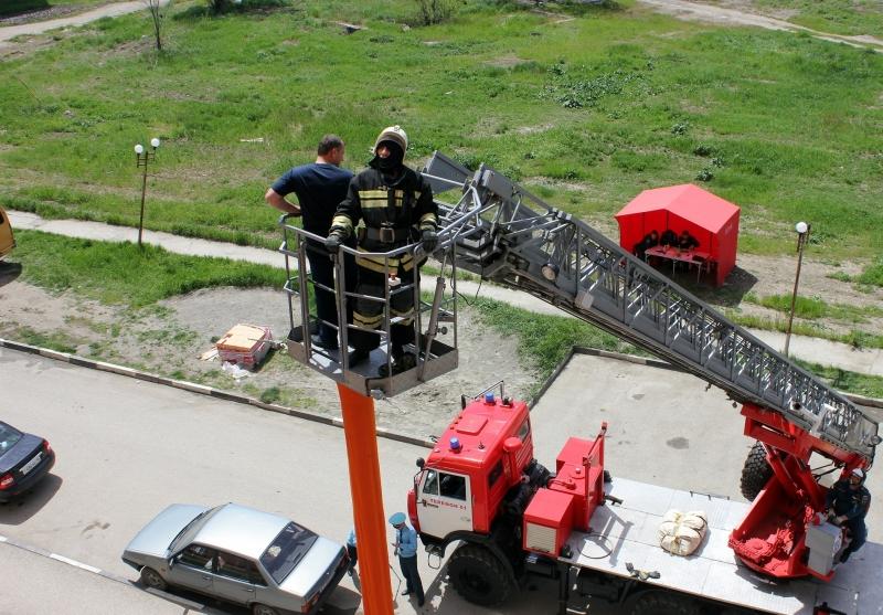 Пожарные автовышки