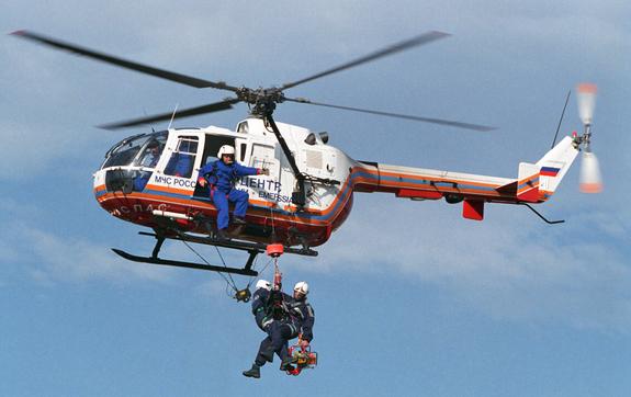 Пожарные вертолеты для эвакуации