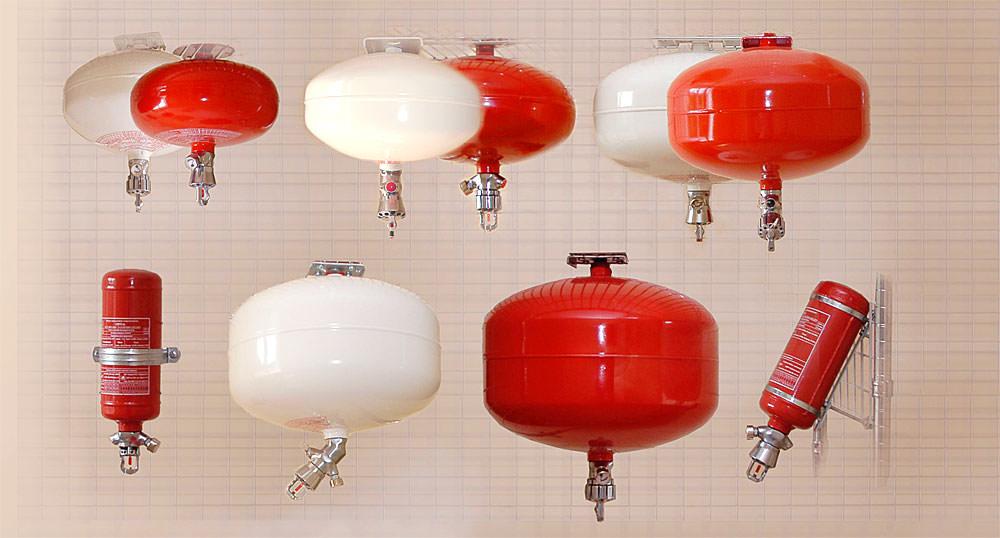 Разнообразие модулей порошкового пожаротушения