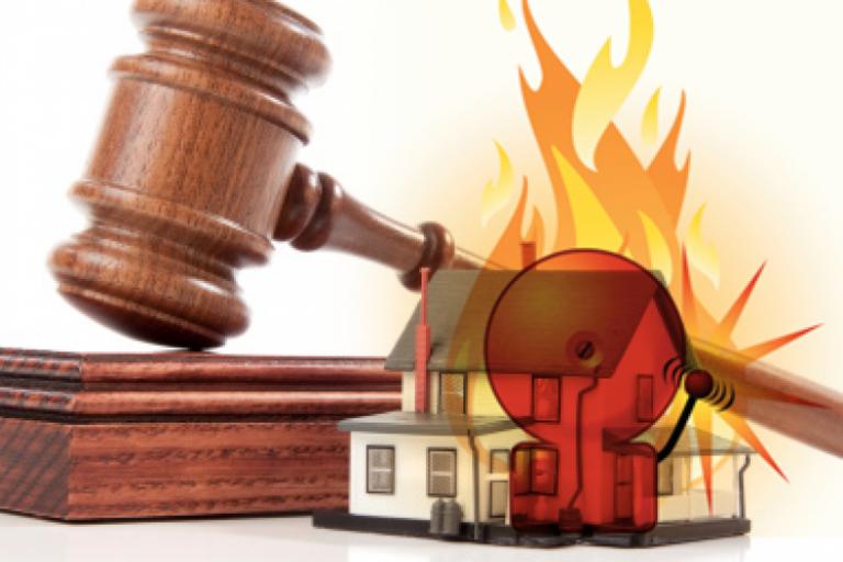 Уголовная ответственность за пожар