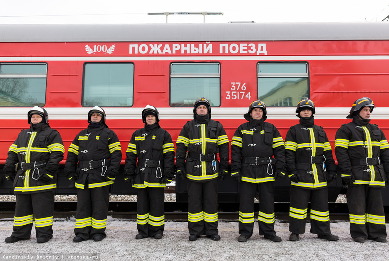 Пожарная охрана на железнодорожном транспорте