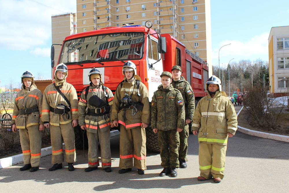Состав современного пожарного боевого расчета