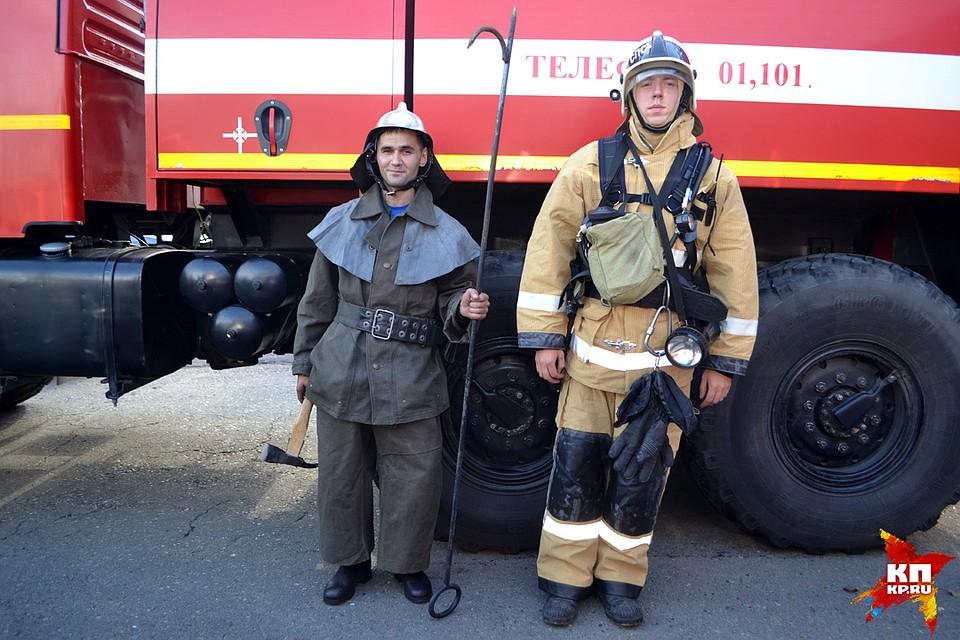 Высокая функциональность современной формы пожарных в сравнении с экипировкой прошлого