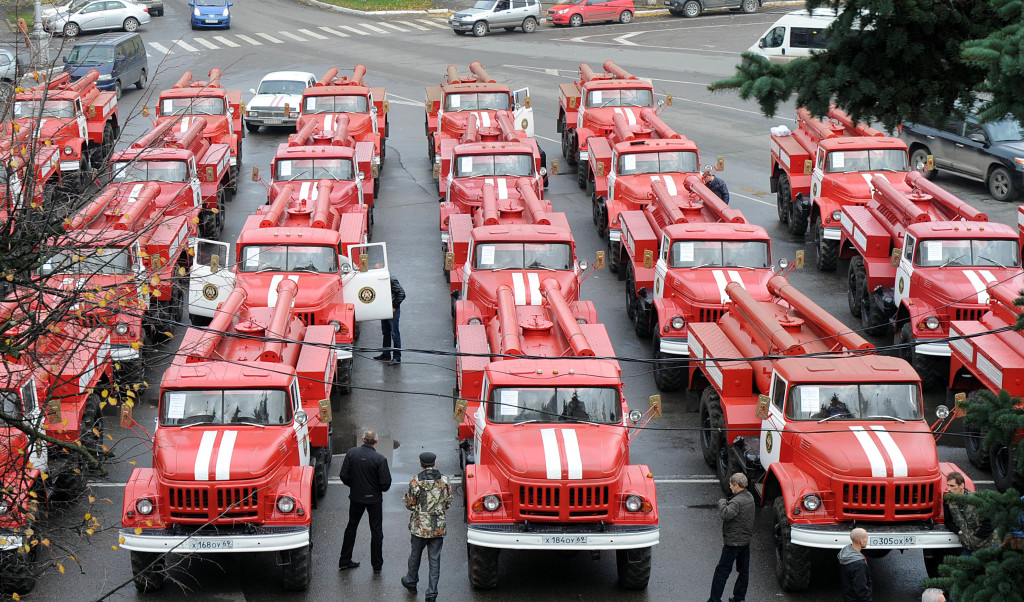 Парк пожарной техники