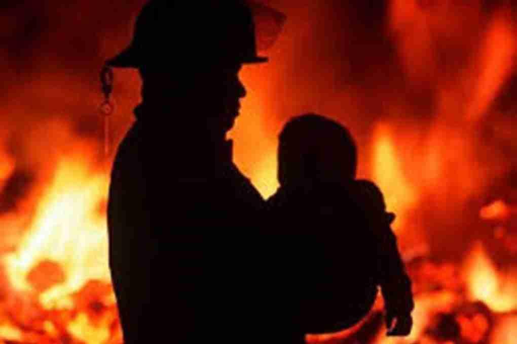Помощь пострадавшим при пожаре
