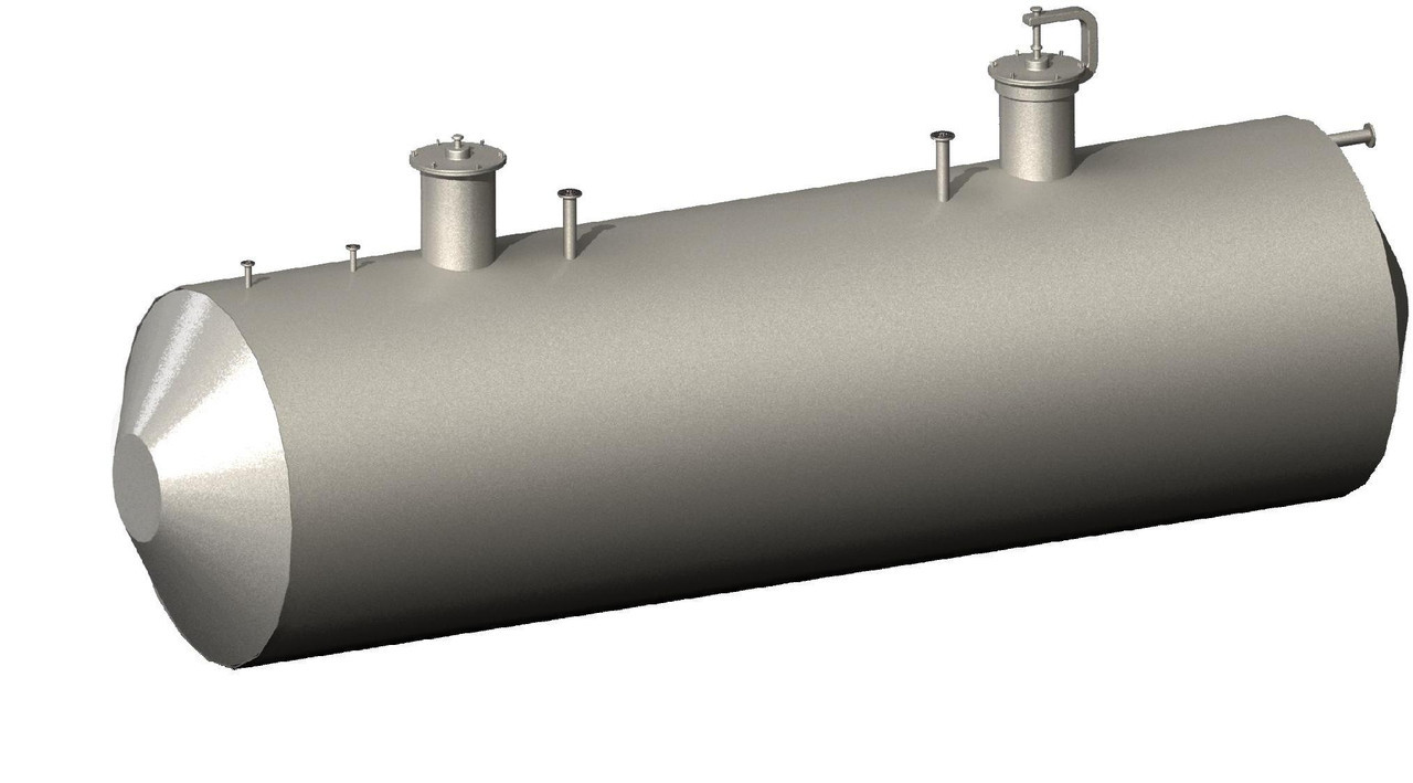 Горизонтальный стальной резервуар (РГС)