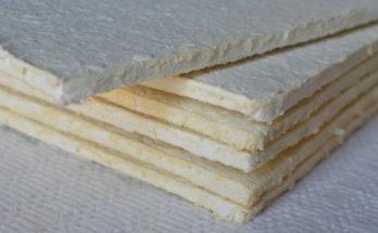 Листовой материал для изоляции печей, каминов, дымоходов