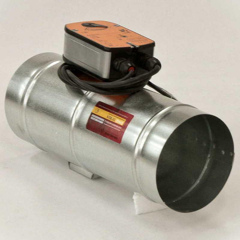Противопожарный элемент для вытяжной вентиляции КПВ 01