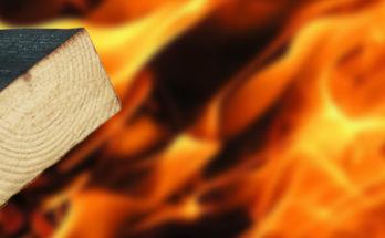 Эффективность огнезащиты деревянных конструкций
