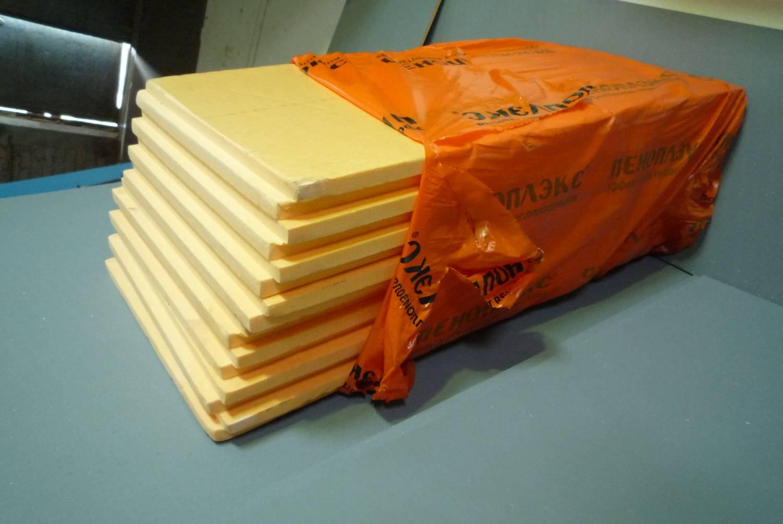 Стандартная упаковка теплоизолятора